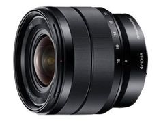 Sony NEX 10-18mm (15-27mm equivalent) f/4 Wide-Angle Zoom Lens $848