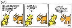 Maurice et Patapon est une bande dessinée de #Charb (dessinateur à #CharlieHebdo, rédacteur en chef assassiné le 7 janvier 2015 au cours d'une fusillade djihadiste dans les locaux parisiens du journal) qui raconte les aventures de Maurice le chien et de Patapon le chat.  http://www.charliehebdo.fr/index.html #JeSuisCharlie   http://fr.wikipedia.org/wiki/Maurice_et_Patapon  http://www.mauriceetpatapon.fr