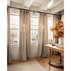 Large Window Treatments