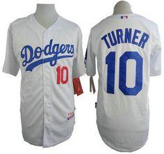 Los Angeles Dodgers Jersey 10 Justin Turner White Jerseys