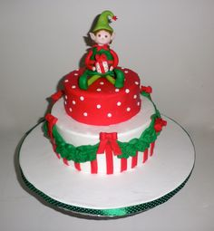 my first xmas cake 2012