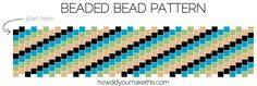 Beaded Bead Necklace - How Did You Make This? Seed Bead Earrings, Beaded Necklace, Beaded Bracelets, Beaded Rings, Beaded Bead, Jewelry Making Tutorials, Beading Tutorials, Beaded Bracelet Patterns, Beading Patterns