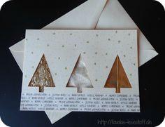 Favolas Lesestoff: [Favola bastelt] Weihnachtskarten