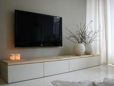 I could have this kind of design now since I bought a new TV (thanks be to God, my provider). #minimalist.
