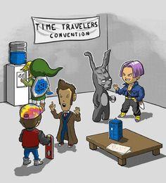 Nerd & Cult : Convenção de viajantes do tempo