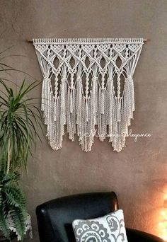 Large Macrame Wall Hanging Tapestry Woven Wall Hanging