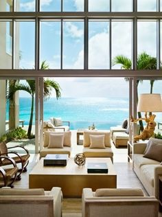 What a view. A lovely vacation home....I can dream right?!?!