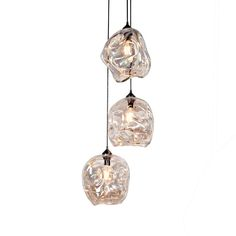 Infinity Pendant  Industrial, Traditional, MidCentury  Modern, Glass, Metal, Pendant by John Pomp Studios