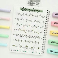 The Ultimate Guide to Dutch Door Bullet Journal Layouts - Journal Junkies Do you need more space in your weekly or monthly spreads? Learn how to cut yourself some Dutch Doors and increase the impact of your Bullet Journal layouts! Bullet Journal Inspo, Bullet Journal Titles, Bullet Journal Banner, Journal Fonts, Bullet Journal Aesthetic, Bullet Journal Dividers, Borders Bullet Journal, Journal Diary, Decor Photobooth