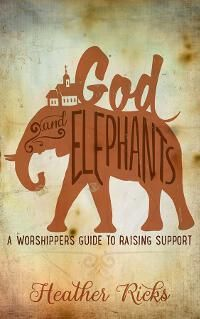 God and Elephants: A Worshipper's Guide to Raising Support designed by Momir from Damonza.com. | JF: A lovely and beautifully integrated title and image concept makes this cover stand out, and the luscious background helps too. ★