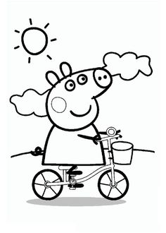 Drawings to print Peppa pig. http://www.coloringpages.pequescuela.com/coloring-painting-print-peppa-pig4.html