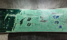 As incríveis estações de metrô de Estocolmo que parecem um labirinto de arte