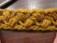 Crochet Bean Stitch - Meladora's Creations Free Crochet Patterns & Tutorials༺✿ƬⱤღ  http://www.pinterest.com/teretegui/✿༻