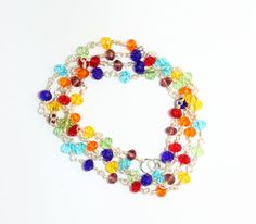 Hey, I found this really awesome Etsy listing at https://www.etsy.com/ca/listing/279701678/long-chakra-necklace-bracelet-or-anklet