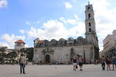 San Francisco de Paula Square and Church in Old Havana. A jewel in Havana colonial past