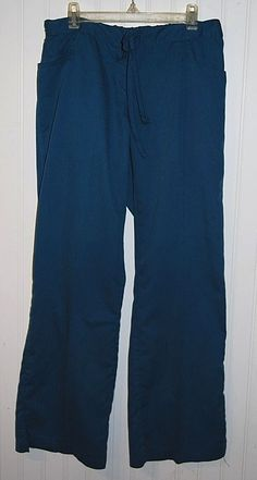 Greys Anatomy Petite Women's XS Scrub Pants Blue Green Style 4232P #GreysAnatomy