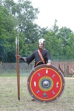 Roman soldier end of third Century from a northern province. Photographed during a show of [http://www.legioxv.org Legio XV from Pram, Austria] {{GFDL}} [[Category::Roman Legion]]