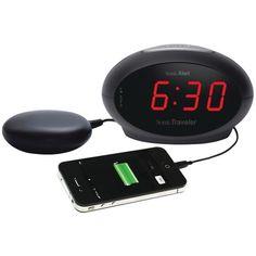 Sonic Alert Sonic Traveler Alarm Clock With Super Shaker