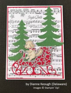 by Dianne Keough, Stampin' Up!, Holiday One-for-One Swap