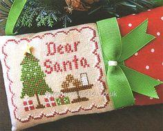 Dear Santa - Country Cottage Needleworks