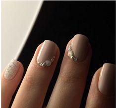 4 diseños de uñas para usar en la noche de boda   Decoración de Uñas - Manicura y Nail Art