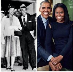TRUE LOVE ♡ MR & MRS KING AND MR & MRS OBAMA ♡ ♡ ♡ ♡