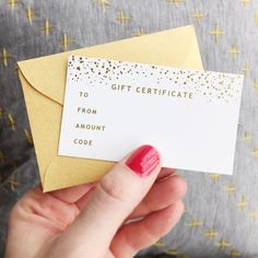 Gift Certificate | The Jones Market