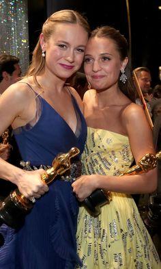 Pin for Later: Hinter den Kulissen: Die 13 besten Backstage-Fotos der Oscars