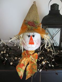 Scarecrow Makedo by CozyExpressions on Etsy, $13.99