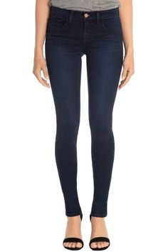 J BRAND JEANS $218 NEW 811 INDIGO SATEEN SKINNY IN ATMOSPHERE WASH DENIM Size 27…