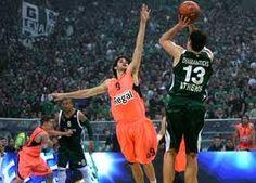 Diamantidis against Barcelona!!!