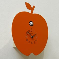 Meridiana Cuckoo Wall Clock 914, Orange