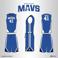 PLEASE VOTE! My design is entry 6 for the Dallas Maverick Jersey contest for an alternate uniform to be worn in the 2015-16 season.