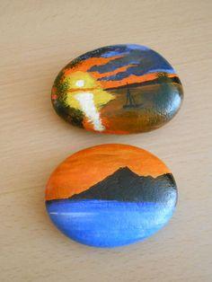 Stone painting Mais