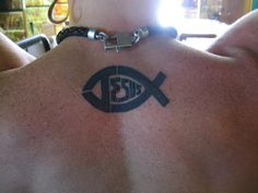 Jesus gas your back Faith Tattoos