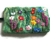 Needle Book or Case - Flower Garden by Uniquely Yours
