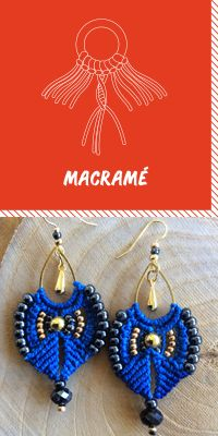 Learn how to do macrame How To Do Macrame, Wall Hanger, Diy Tutorial, Decorating Your Home, Crochet Earrings, Creations, Weaving, Jewelry, Couture