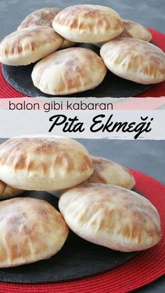 Balon Gibi Kabaran Tam Ölçülü Pita Ekmeği (Videolu) – Nefis Yemek Tarifleri – Tatlı tarifleri – Las recetas más prácticas y fáciles Sweet Potato Dinner, Bread Recipes, Cooking Recipes, Pita Recipes, Pasta Cake, Sweet Tarts, Pitaya, Turkish Recipes, Biscuit Recipe