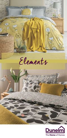 Awesome yellows and greys. Just needs a little purple in there and it's perfect. Ochre Bedroom, Grey Bedroom With Pop Of Color, Bedroom Themes, Bedroom Makeover, Mustard Bedroom, Gray Bedroom, Bedroom Decor, Bedroom Diy, Mustard And Grey Bedroom