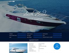 """Check out new work on my @Behance portfolio: """"yacht chartering company"""" http://be.net/gallery/34722313/yacht-chartering-company"""