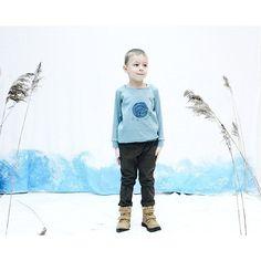 "Sweatshirt Grecha ""little bird"" for kids. Grecha kids."
