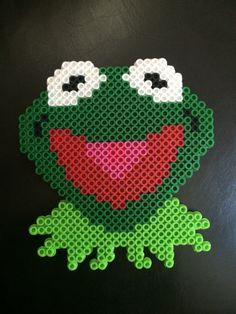 Kermit the frog perler bead