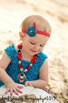 Ready to ship Pure Silk Crochet Diamante Flower Hair Clip Headband Baby Girl OOAK Blue Red Limited Edition on Etsy, $25.00 CAD