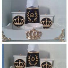 Kit higiene de luxo #kitdeluxo #kithigienetemaprincipe #gestantes #menino…