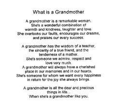 grandma poems grandmothers day esl resources grandmotherquotes