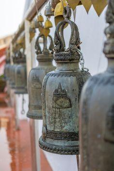 Bells on The Golden Mount in Bangkok, Thailand