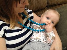 Chewbeads Review: Chewable teething jewelry for your babies!