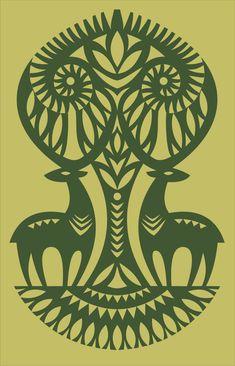 Henna Animals, Polish Folk Art, Scandinavian Folk Art, Flower Background Wallpaper, Ukrainian Art, Indian Art Paintings, Art Journal Pages, Tribal Art, Art Sketchbook