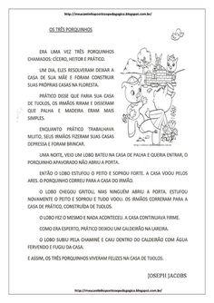 Cantinho Poético e Pedagógico : OS TRÊS PORQUINHOS - SEQUÊNCIA DIDÁTICA