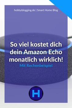 Hast du dich schon einmal gefragt, wie teuer dein Amazon Echo Dot wirklich ist? Ich zeige dir anhand einem Rechenbeispiel, wie viel mich der Sprachassistent im Monat kostet. Dabei ist es egal, ob du einen Amazon Echo Show, einen Amazon Echo Studio oder einen anderen Echo nutzt. Im Blog findest du außerdem weitere Tipps für Amazon Alexa Skills und Themen zum vernetzten Wohnen. Amazon Echo, Monat, Studio, Blog, Weather Report, Numeracy, Don't Care, Tips, Studios